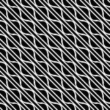 Nahtlose diagonale Linien Muster des Vektors Schwarzweiss Abstrakte Hintergrund Tapete Auch im corel abgehobenen Betrag Grau, bel lizenzfreie abbildung