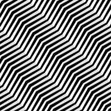 Nahtlose diagonale Linien Vektormuster Abstraktes geometrisches Muster Wellenförmiger Hintergrund lizenzfreies stockbild