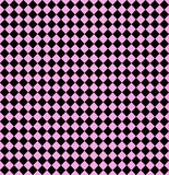 Nahtlose Diamanten auf Pastellrosa Stockfoto
