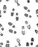 Nahtlose Drucke von Schuhen Lizenzfreie Stockfotos