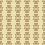 Nahtlose elegante Linien Musterhintergrund des Vektors Stockbild