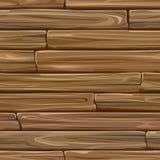 Nahtlose farbige Hintergrundwand von hölzernen Planken Stockfoto