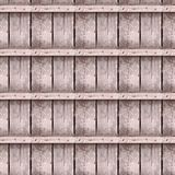 Nahtlose Fotobeschaffenheit von alten Bauholzplanken stockbild