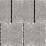 Nahtlose Fotobeschaffenheit von alten quadratischen Steinblöcken lizenzfreies stockbild