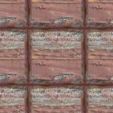 Nahtlose Fotobeschaffenheit von hölzernen Planken mit Rotöl lizenzfreies stockfoto