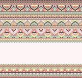 Nahtlose Gekritzelillustration, zentangle Muster, Tapete, Hintergrund, Beschaffenheit Inder Orment Design für an drucken Stockbild