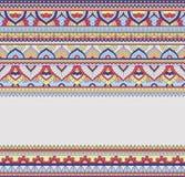 Nahtlose Gekritzelillustration, zentangle Muster, Tapete, Hintergrund, Beschaffenheit Inder Orment Design für an drucken Lizenzfreies Stockbild
