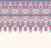 Nahtlose Gekritzelillustration, zentangle Muster, Tapete, Hintergrund, Beschaffenheit Inder Orment Design für an drucken Lizenzfreie Stockfotos