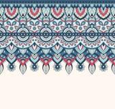 Nahtlose Gekritzelillustration, zentangle Muster, Tapete, Hintergrund, Beschaffenheit Inder Orment Design für an drucken Lizenzfreies Stockfoto