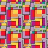 Nahtlose geometrische fantastische Verzierung Lizenzfreie Stockfotografie