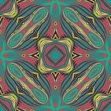 Nahtlose geometrische LINIE Muster Lizenzfreies Stockbild