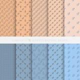 Nahtlose geometrische Muster Stockbilder