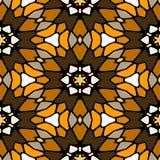 Nahtlose geometrische Muster des Kaleidoskops Stockfotos