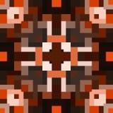 Nahtlose geometrische Muster des Kaleidoskops Stockbild