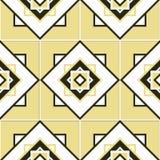 Nahtlose geometrische Musterbeschaffenheit lizenzfreie abbildung