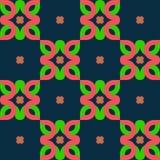 Nahtlose geometrische Verzierung Stockbild