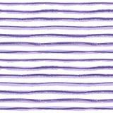 Nahtlose gezeichnete Streifenbeschaffenheit der Tinte Hand auf weißem Hintergrund Lizenzfreie Stockfotos