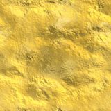 Nahtlose Goldbeschaffenheit, kopierter Hintergrund Stockfoto
