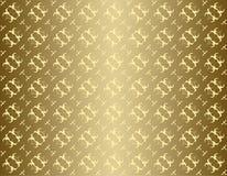 Nahtlose goldene Beschaffenheit mit Steigung Stockfotos