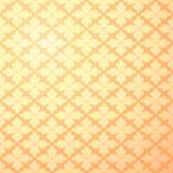 Nahtlose goldene Blumentapete Lizenzfreies Stockbild