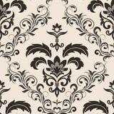 Nahtlose gotische Blumentapete Lizenzfreie Stockbilder