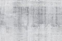 Nahtlose graue Betonmauerhintergrundbeschaffenheit Stockbilder