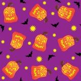 Nahtlose Halloween-Fliese Stockfotografie