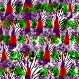 Nahtlose Hand gezeichnetes Aquarellmuster Helles Design für Tapete, Fliese, Gewebe, Gewebe, Verpackung, verpackend, Tarnungs-Druc Lizenzfreie Stockfotografie