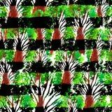 Nahtlose Hand gezeichnetes Aquarellmuster Helles Design für Tapete, Fliese, Gewebe, Gewebe, Verpackung, verpackend, Tarnungs-Druc Lizenzfreie Stockbilder