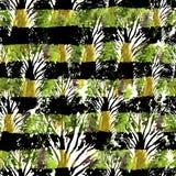 Nahtlose Hand gezeichnetes Aquarellmuster Helles Design für Tapete, Fliese, Gewebe, Gewebe, Verpackung, verpackend, Tarnungs-Druc Stockbilder