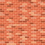 Nahtlose Hintergrund-Backsteinmauer stock abbildung