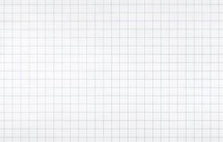 Nahtlose Hintergrundbeschaffenheit des weißen Karopapiers Lizenzfreie Stockbilder