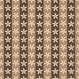 Nahtlose Hintergrundblumen in der Vanille Lizenzfreies Stockbild