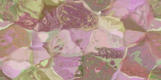Nahtlose horizontale Beschaffenheit mit Zusammenfassung färbte Farbe in den großen bunten Anschlägen Stockbilder