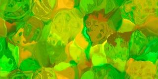 Nahtlose horizontale Beschaffenheit mit Zusammenfassung färbte Farbe in den großen bunten Anschlägen Lizenzfreies Stockbild