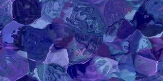 Nahtlose horizontale Beschaffenheit mit Zusammenfassung färbte Farbe in den großen bunten Anschlägen Lizenzfreie Stockfotos