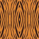 Nahtlose Illustration des Vektors des Tigerstreifenmusters Stockfotografie