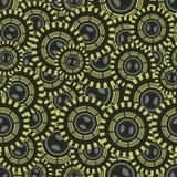 Nahtlose Illustration mit Kreisen Stockfotografie