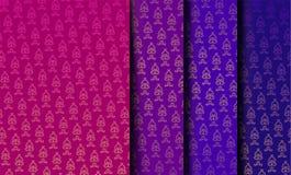 Nahtlose indische Muster Lizenzfreies Stockbild