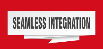 nahtlose Integration lizenzfreie abbildung