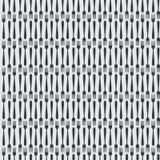 Nahtlose Küchen-Tischbesteck-Gabel in einer Linie Muster Lizenzfreies Stockfoto