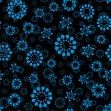 Nahtlose Kreise des abstrakten Winterschnees entwerfen das ungewöhnliche Muster Wiederholbarer Hintergrund der runden Formen des  Stockfotos