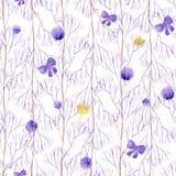 Nahtlose lila Feier Lizenzfreie Stockfotografie