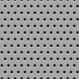 Nahtlose Metallbeschaffenheit mit Hexagonlöchern Stockfotos