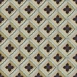 Nahtlose mittelalterliche Wand Lizenzfreie Stockfotos