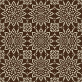 Nahtlose Muster Brown-Universalvektors, deckend mit Ziegeln Geometrische Verzierungen Stockfotografie