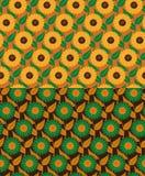 Nahtlose Muster der Sonnenblume Stockfoto