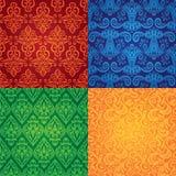Nahtlose Muster der vektorweinlese Lizenzfreies Stockfoto