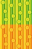 Nahtlose Muster der Zitrusfrucht Lizenzfreies Stockfoto