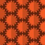 Nahtlose Muster des Vektors können für Tapetenmusterfüllen und -hintergrund benutzt werden Stockbild